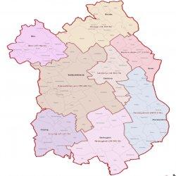 Fejér megye térkép