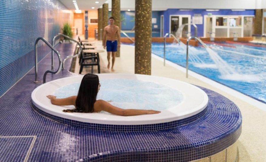 wellness részleg a szállodában